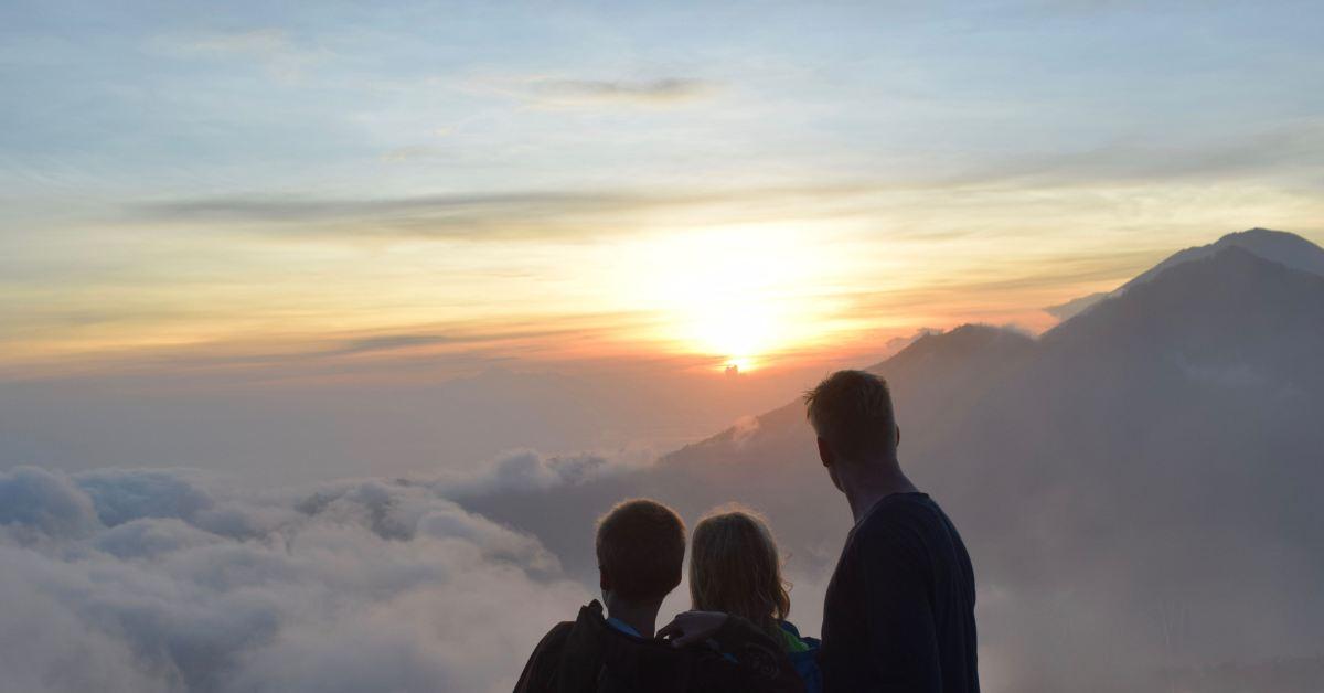 Vandretur på vulkanen GunungBatur